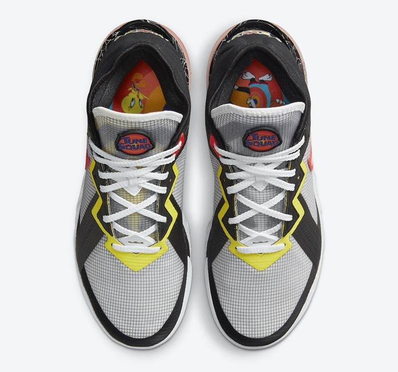 Lebron 18 Low,詹姆斯,兔八哥,大灌篮  四双鞋里有六个配色!?《空中大灌篮 2》战靴真是玩明白了!