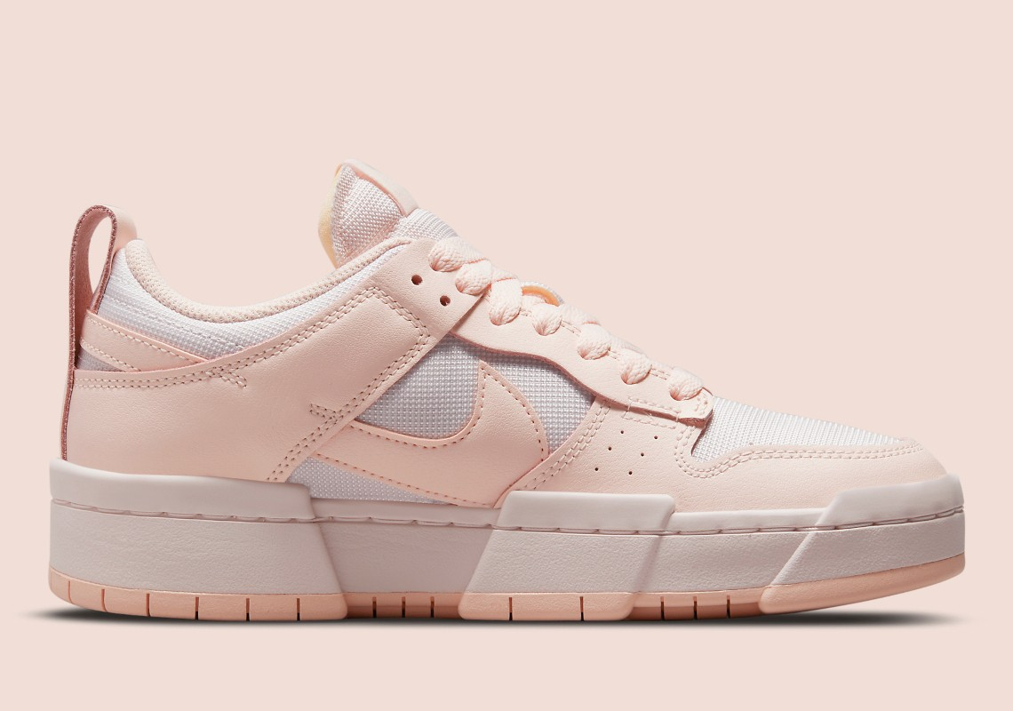 Nike,Dunk Low Disrupt,Barely R  粉粉嫩嫩!全新配色 Dunk Low Disrupt 官图曝光!