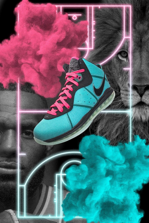 Nike,Lebron 8,South Beach  无数人期待的天价「南海岸」回归!细节质感原汁原味!网友:爷青回!
