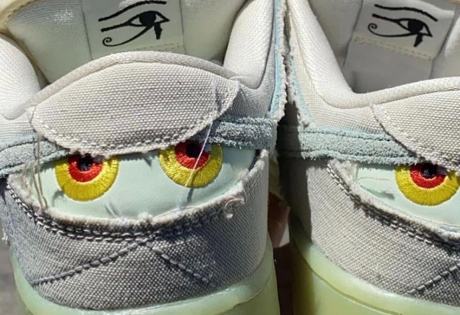 Dunk SB,Nike,发售,DM0774-111  刮刮乐 + 夜光!这双「木乃伊」Dunk SB 又帅又好玩!