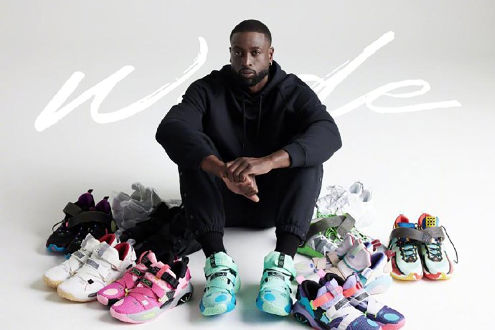 韦德之道,李宁,黑标  韦德晒成堆新鞋!超多全新单品都要发售!网友:信息量真大!