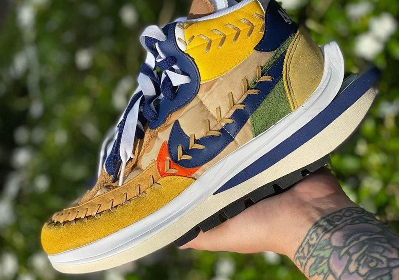 Nike,Sacai,VaporWaffle,Jean Pa  今年「跳票王」就是你了!Nike x Sacai 三方联名实物曝光!