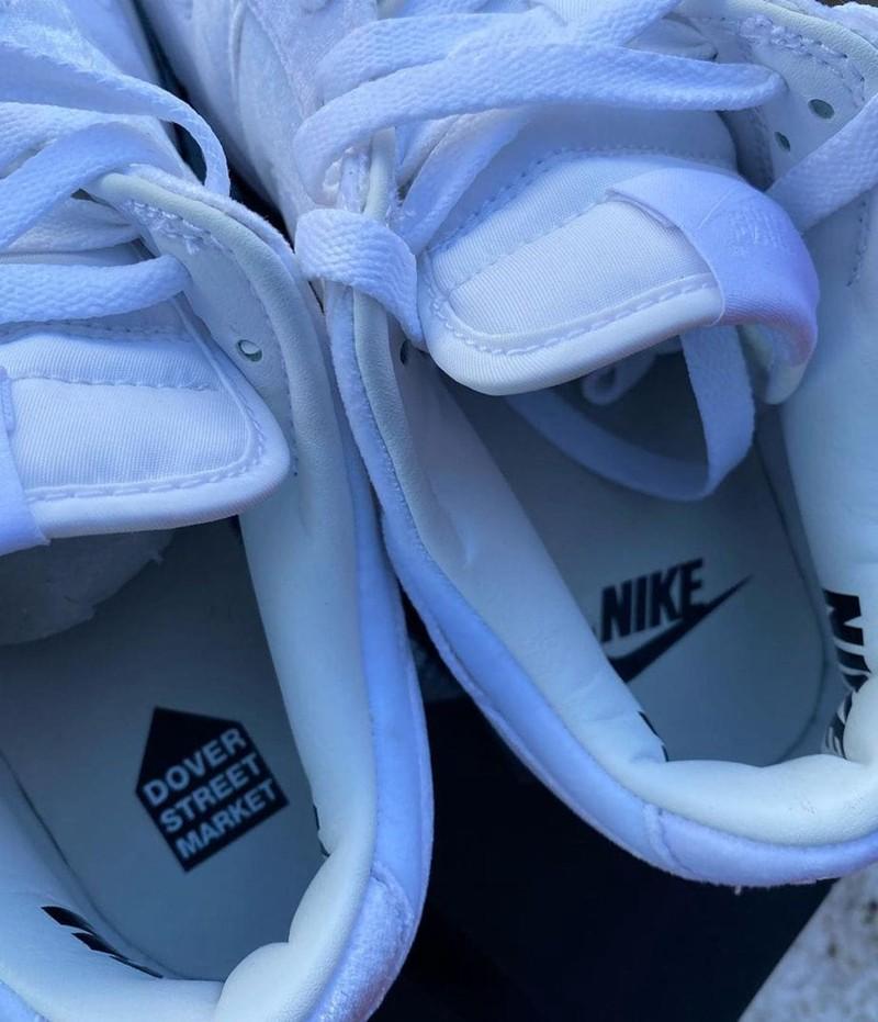 Dover Street Market,Nike Dunk  白丝绒装扮!DSM x Nike Dunk Low 最新实物曝光!今夏发售!