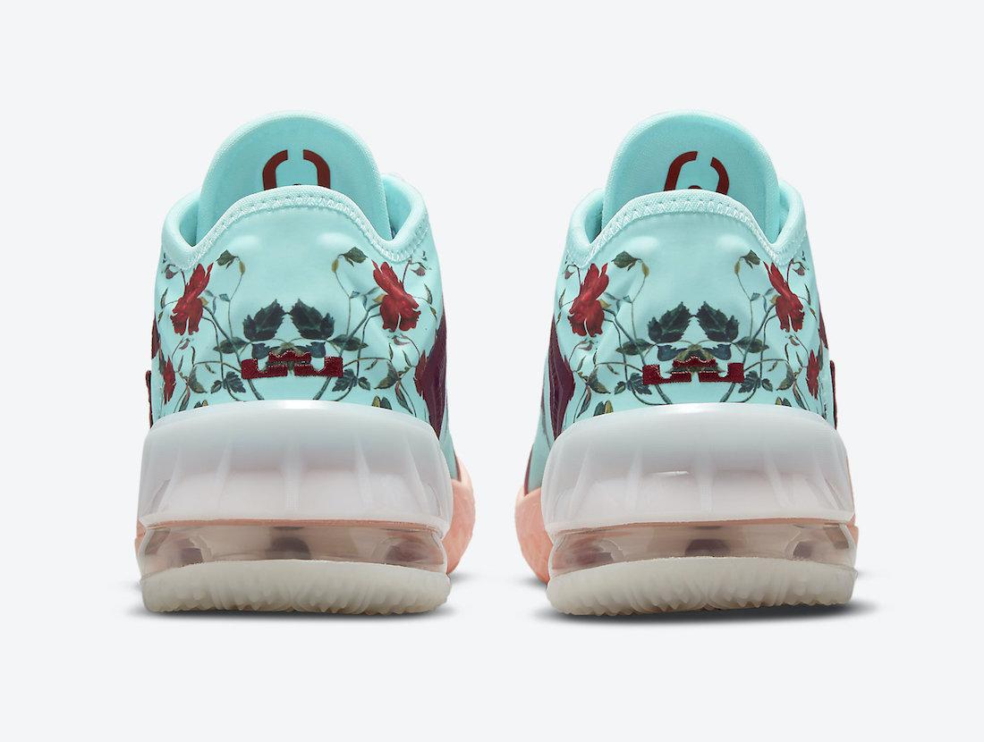 Nike,LeBron 18 Low,Floral,  「小花」配色!全新 LeBron 18 官图曝光!
