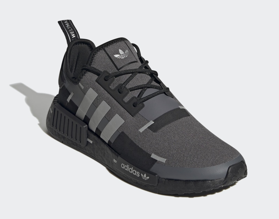 adidas,NMD R1,GZ7946  暗黑机能风!全新 NMD R1 现已发售!