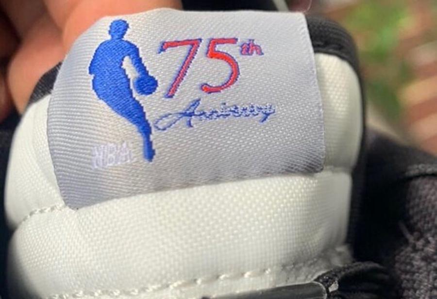 NBA,Nike Dunk Low EMB,75th Ann  75 周年纪念!NBA x Nike 新联名实物曝光!这颜值你爱了吗?