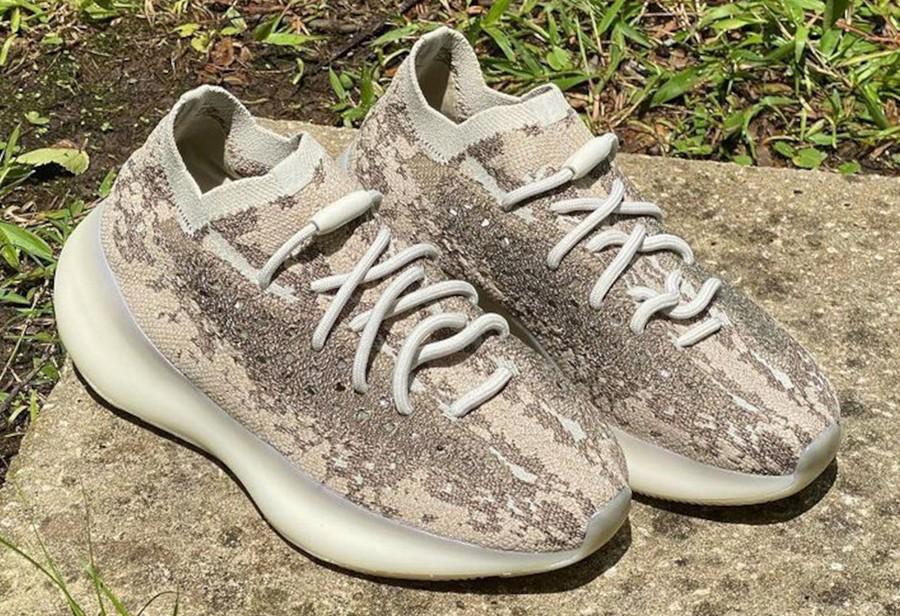 adidas,Yeezy 380,Stone Salt  大地色系 Yeezy 380!全新实物图曝光!