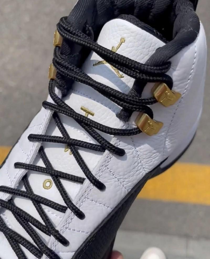 AJ12,Air Jordan 12,Royalty,CT8  十月发售!新「金扣」AJ12 实物图曝光!这颜值你爱了吗?
