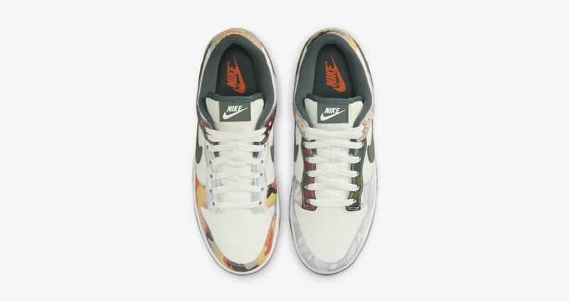 Nike,Dunk Low,SE,DH0957-100   三种不同迷彩样式点缀!全新配色 Dunk Low 下周登场!
