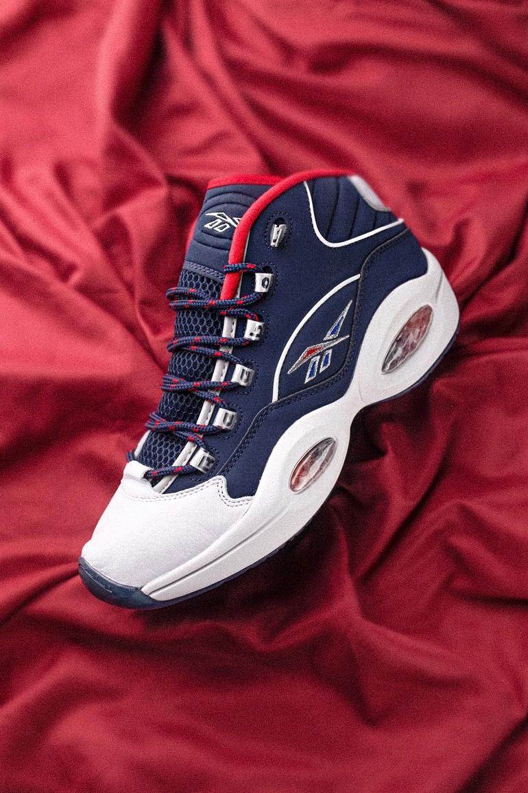 Reebok,Question Mid,Team USA,H  没发售就涨几百块!又一双没见过的「奥运战靴」刚刚曝光!