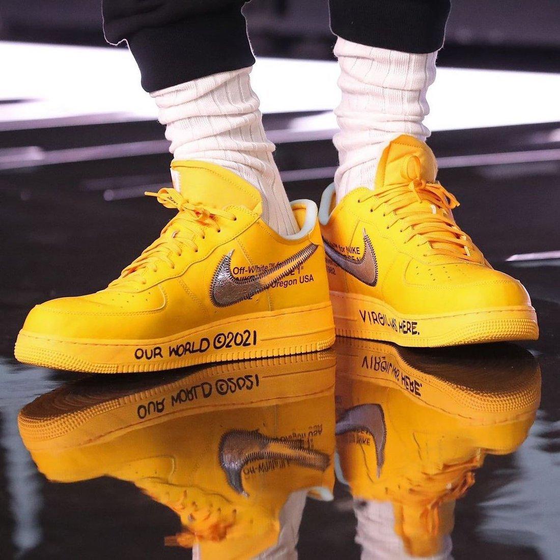 OFF-WHITE,Nike,Air Force 1 Low  又一款鞋圈海景房?OW x Nike「艺术馆联名」本月发售!