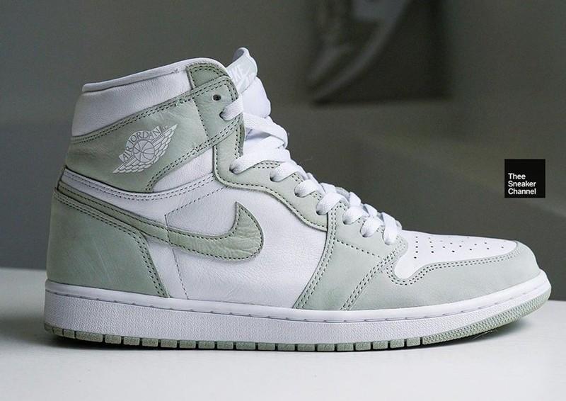 Air Jordan 1,全明星,蒂芙尼,鼠尾草,CD046  酷似 3000+ 狠鞋!全新「鼠尾草」Air Jordan 1 有点小清新!