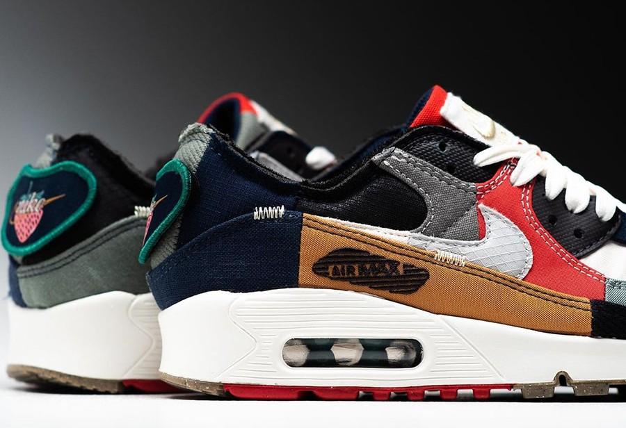 "Nike,Air Max 90,Legacy,DJ4878-  拼接怪!全新 Air Max 90 ""Legacy"" 即将发售!"