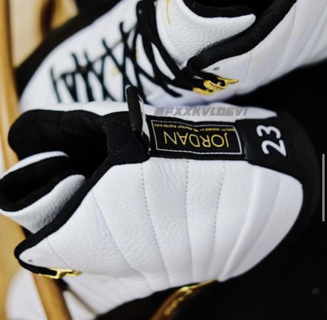 Air Jordan 12,AJ12,发售,CT8013-1  有内味儿了!新金扣 AJ12 最新实物曝光!发售日期有了!
