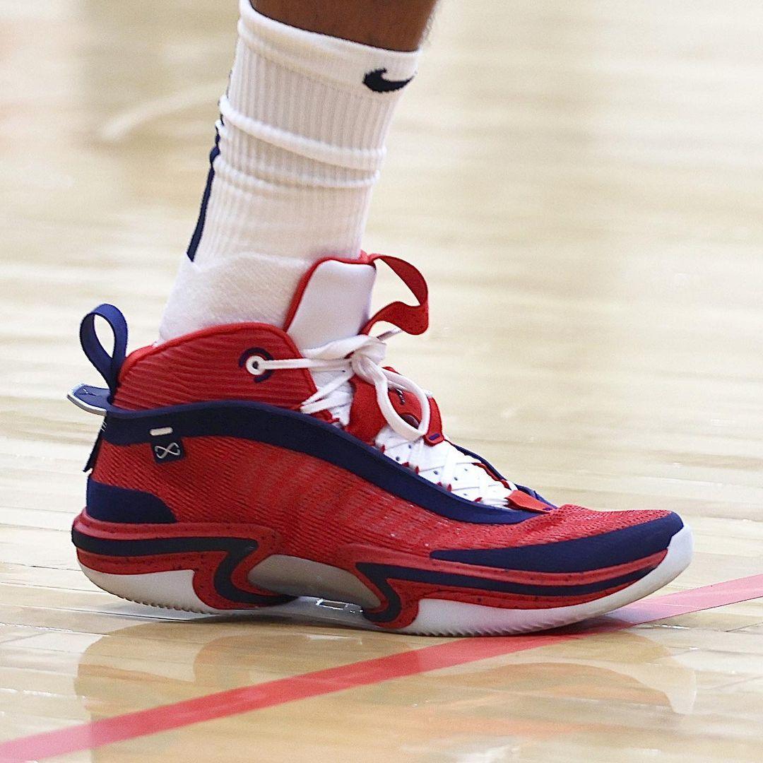 NBA,塔克,字母哥,总决赛  雄鹿扳平大比分!美国队连败!近期「球鞋上脚」真刺激!