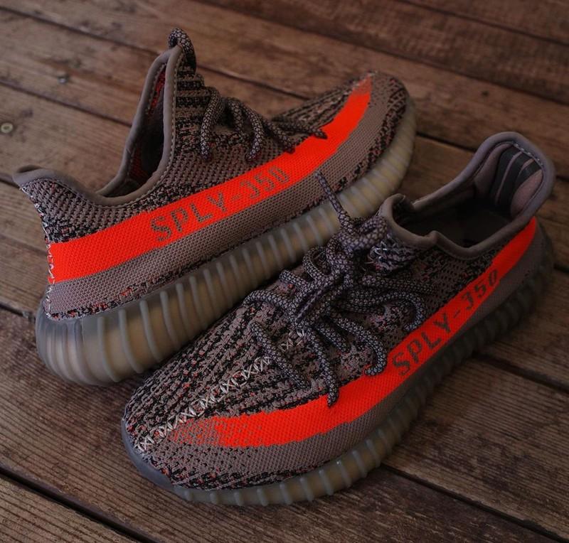 adidas,Yeezy Boost 350 V2,灰橙  发售信息有了!「灰橙满天星」实物简直亮瞎眼!