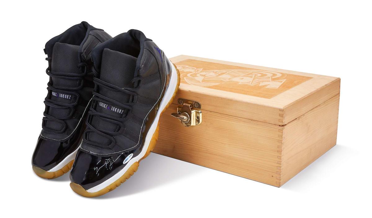 AJ11,Air Jordan 11  存世最稀有的 AJ 之一!乔丹亲签大灌篮 AJ11 上架拍卖!