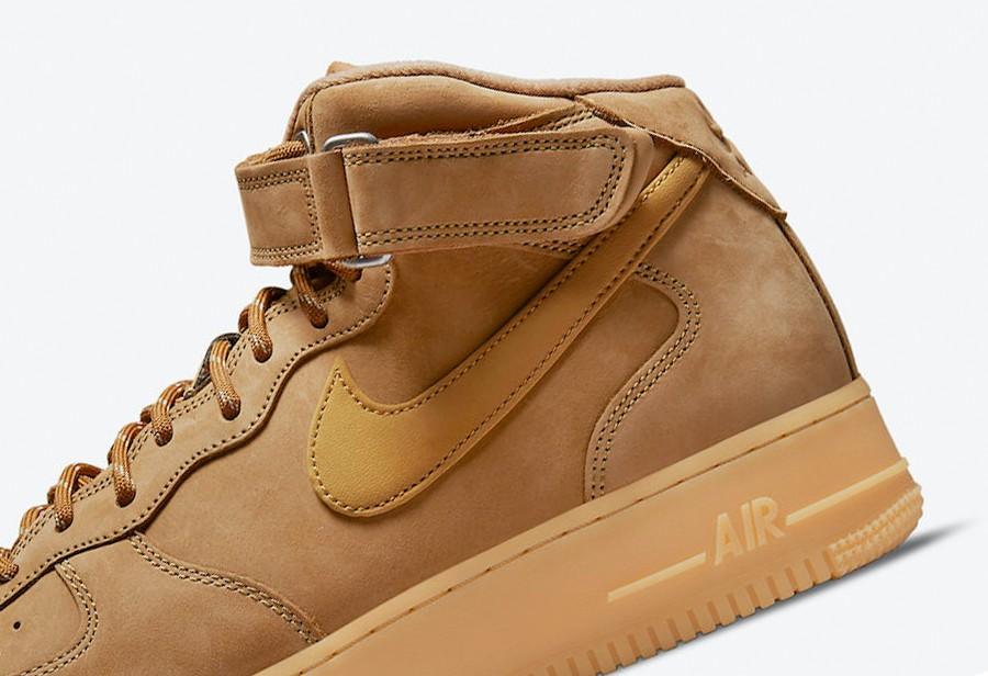 Nike,Air Force 1 Mid,Wheat,DJ9  秋冬必备!依旧高规格!全新「小麦 AF1」再度回归!