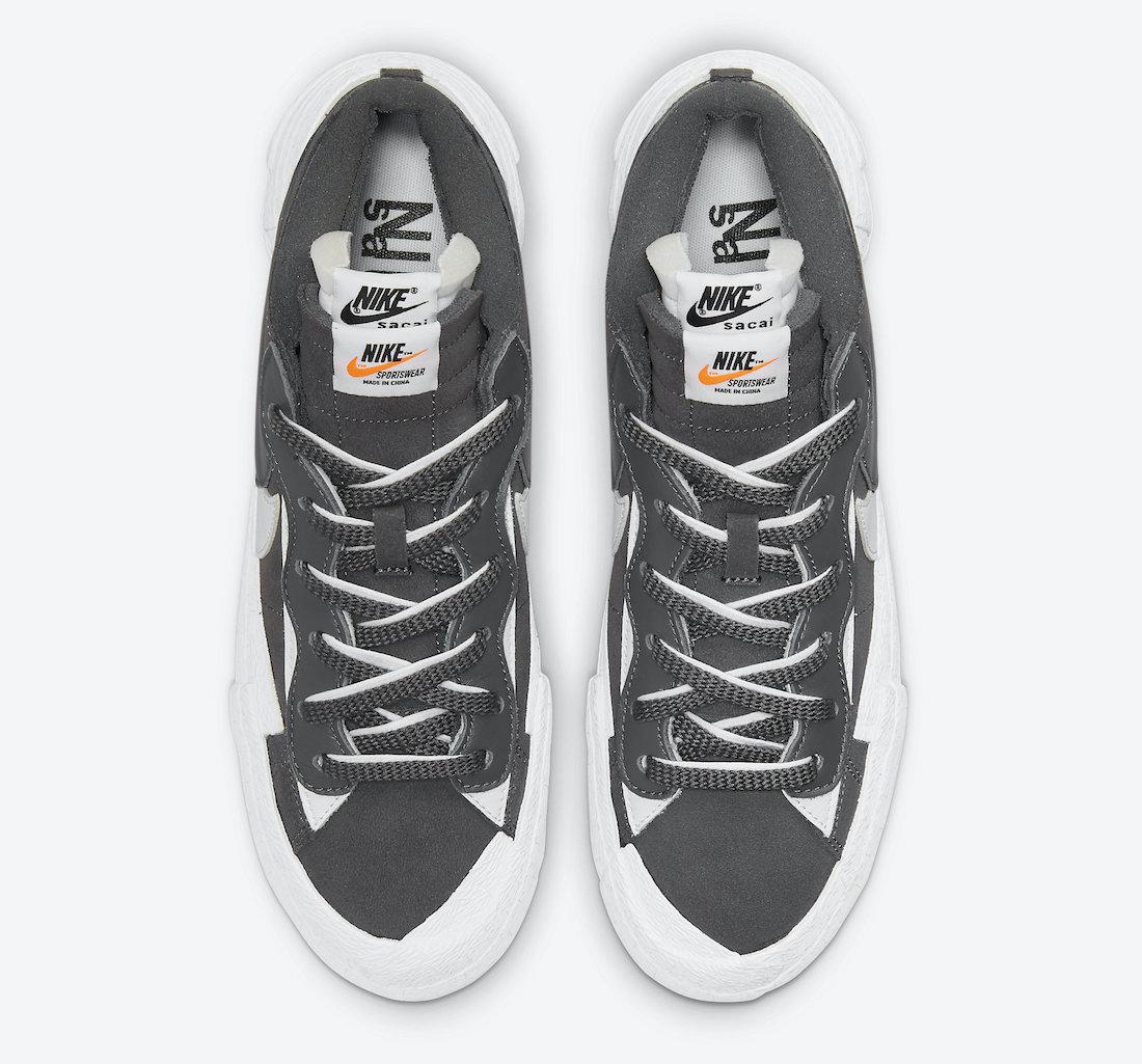 sacai,Nike,Blazer Low  新配色下月发售!全新 sacai x Nike 官图曝光!