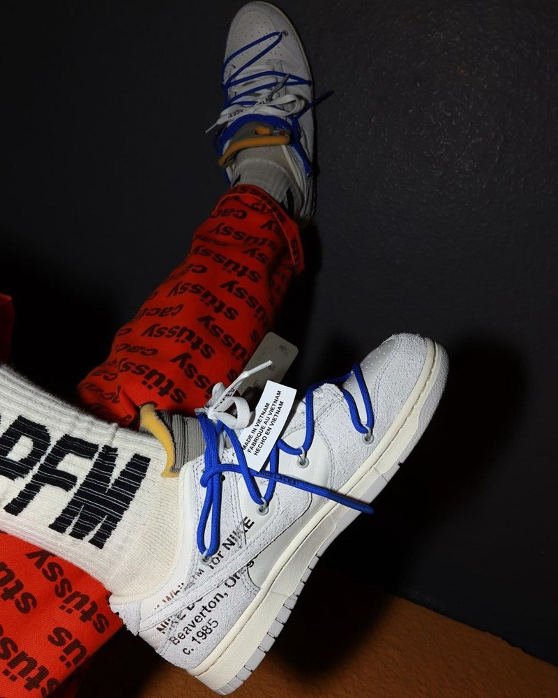 Collection,The 50,Nike,Dunk Lo  OW x Dunk Low 最新上脚图曝光!「Vibe 风」满满等不及了!