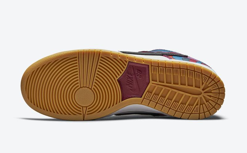Parra,Nike,Dunk SB,DH7695-600  今年最好看联名鞋是它吗?Parra x Dunk SB 发售信息有了!