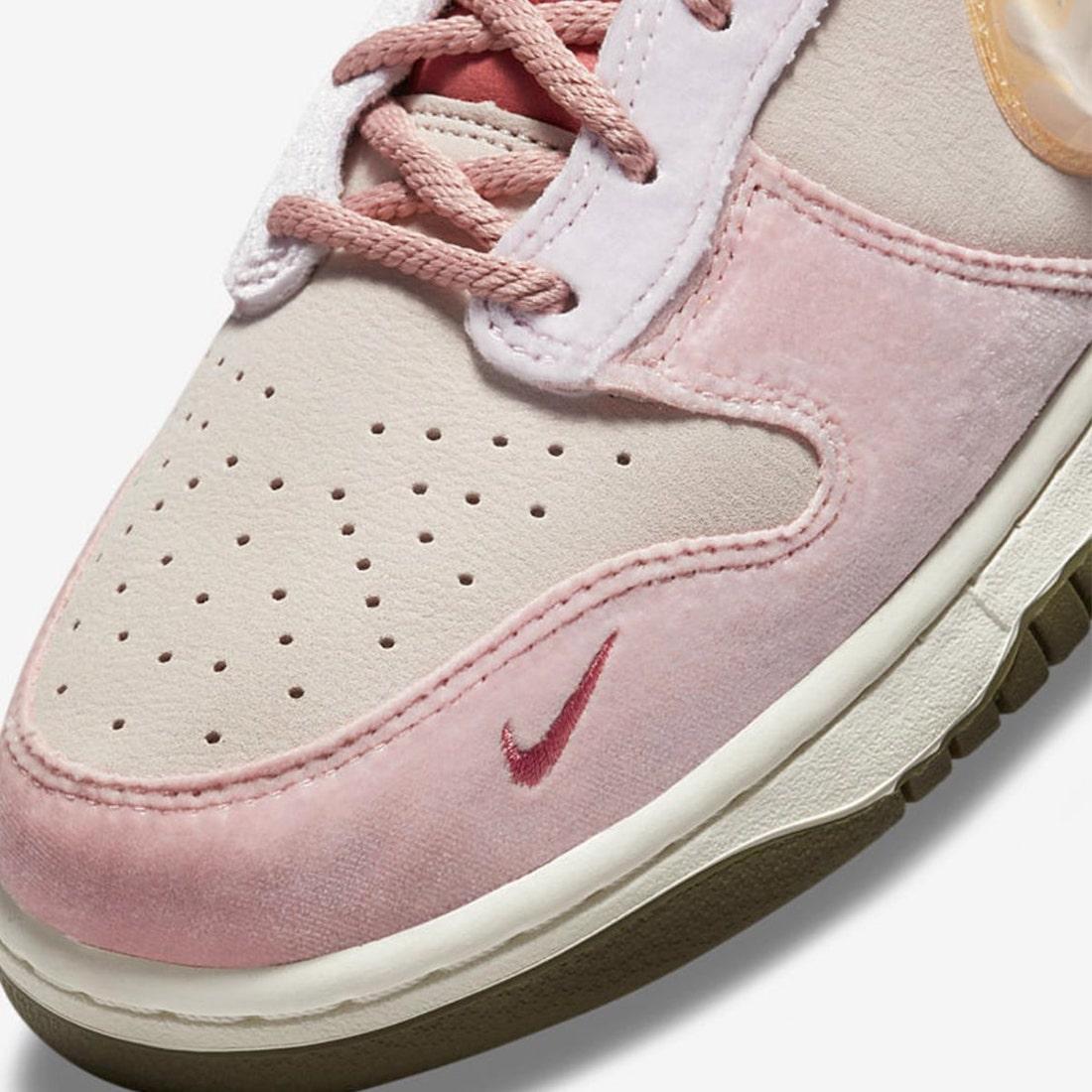 Jordan,A Ma Maniére,Air Jordan  粉嫩不输「情人节」!全新联名 Dunk 曝光!还有特殊鞋盒!