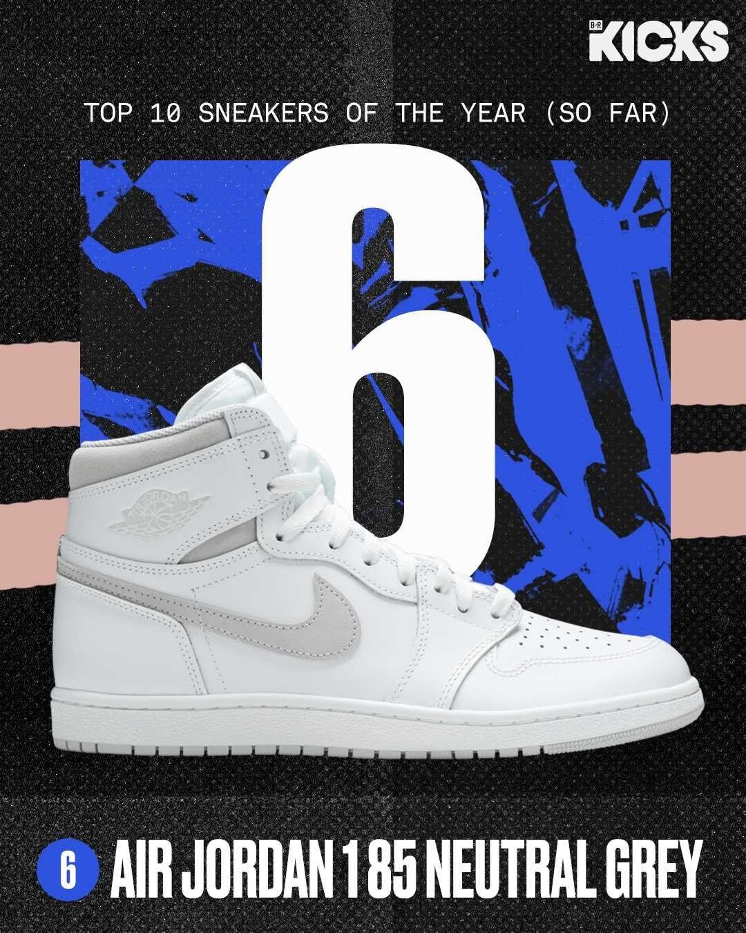 BR,Nike,adidas  上半年「十佳球鞋」!实战鞋都能入选?第一名让冠希哭笑不得...