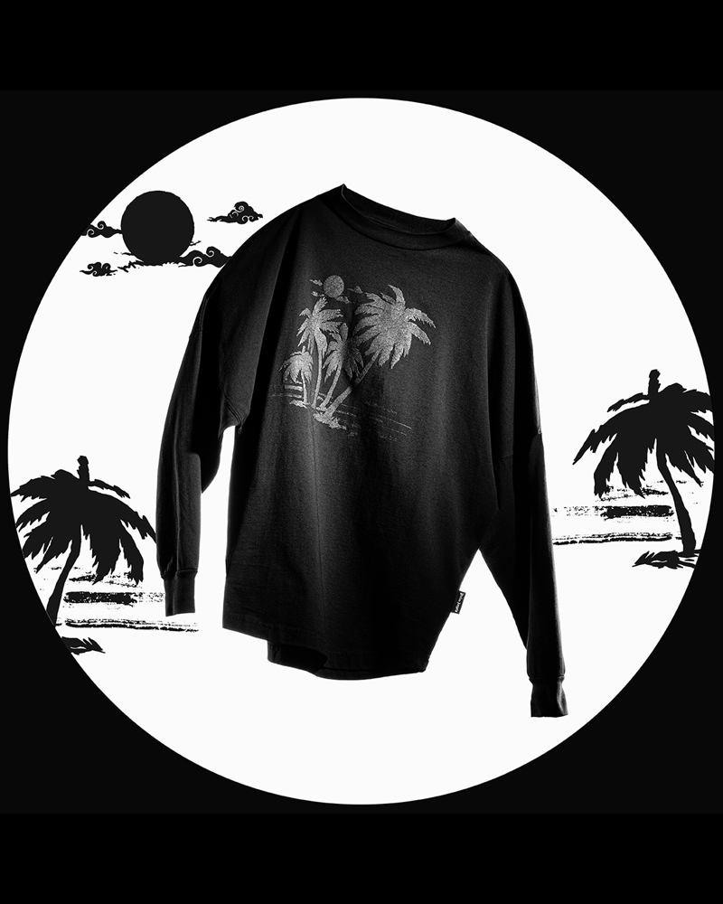 Palm Angels,TEAM WANG  水墨元素加持!Palm Angels 新联名即将登场!颜值你打几分?