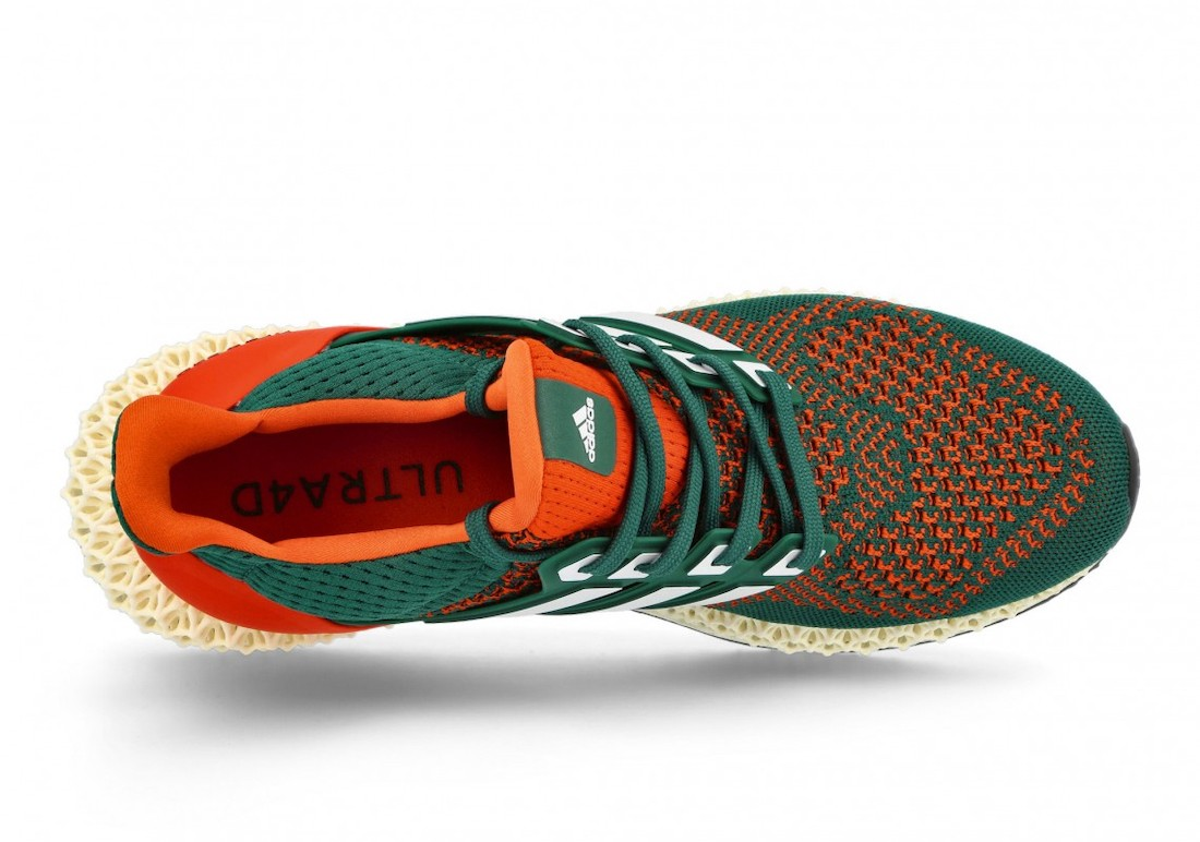 adidas,Ultra 4D,Miami Hurrican  格外亮眼配色!全新 adidas Ultra 4D 即将发售!
