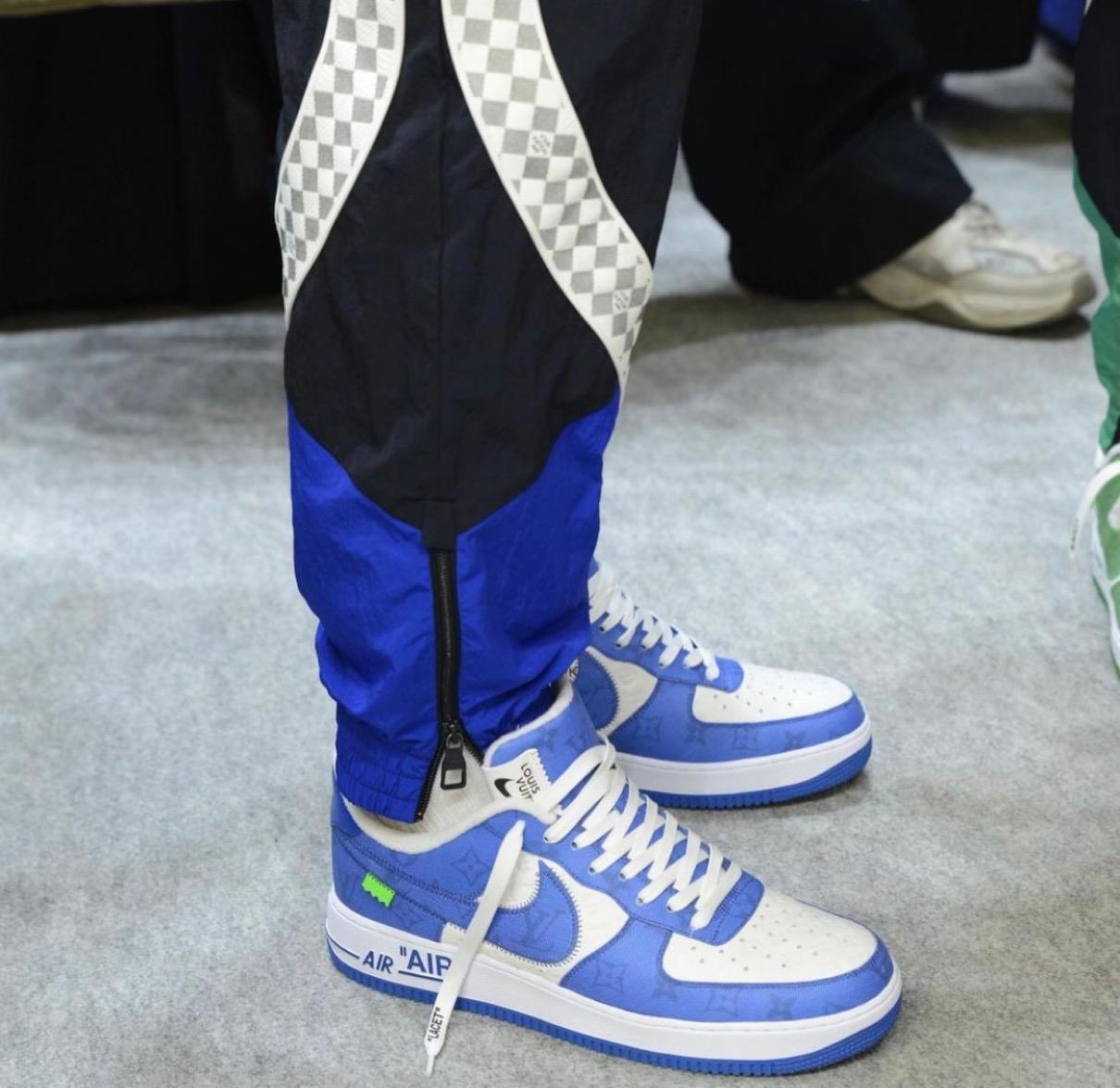 LV,Virgil,Nike,Air Force 1 Low  黑武士装扮!LV x Nike AF1 最新实物曝光!发售传闻有了!