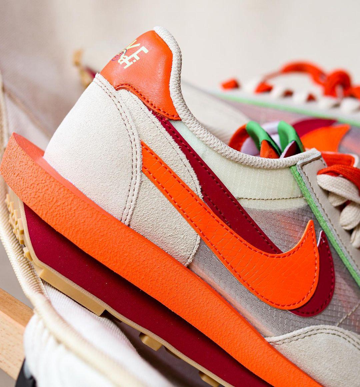 sacai,CLOT,Nike,LDV Waffle  冠希又双叒叕带货了!提前上脚 sacai x Nike「死亡之吻」即将发售!