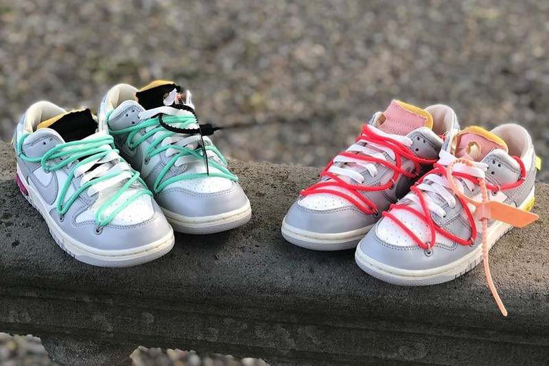 Dunk Low,OFF-WHITE,Nike  发售倒计时!OW x Dunk Low 新配色实物曝光!