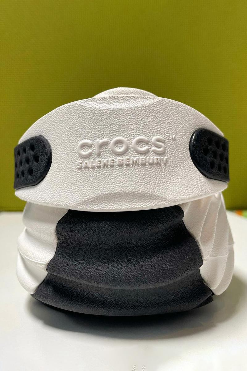 Salehe Bembury,Crocs  生物感满满的前卫造型!Crocs 联名鞋款实物曝光!