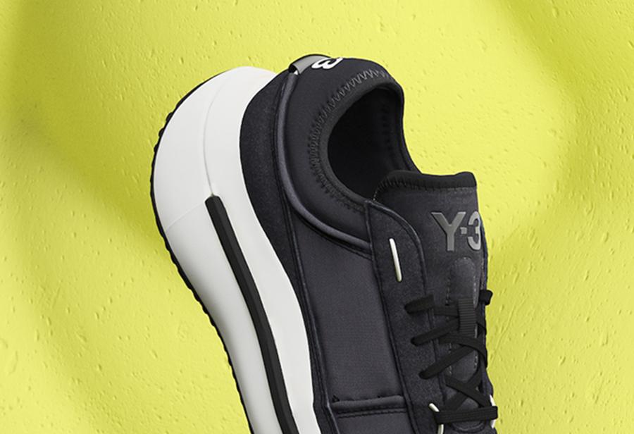adidas,Y-3,AJATU RUN,QISAN COZ  超厚鞋底!全新两款 adidas Y-3 图片曝光!