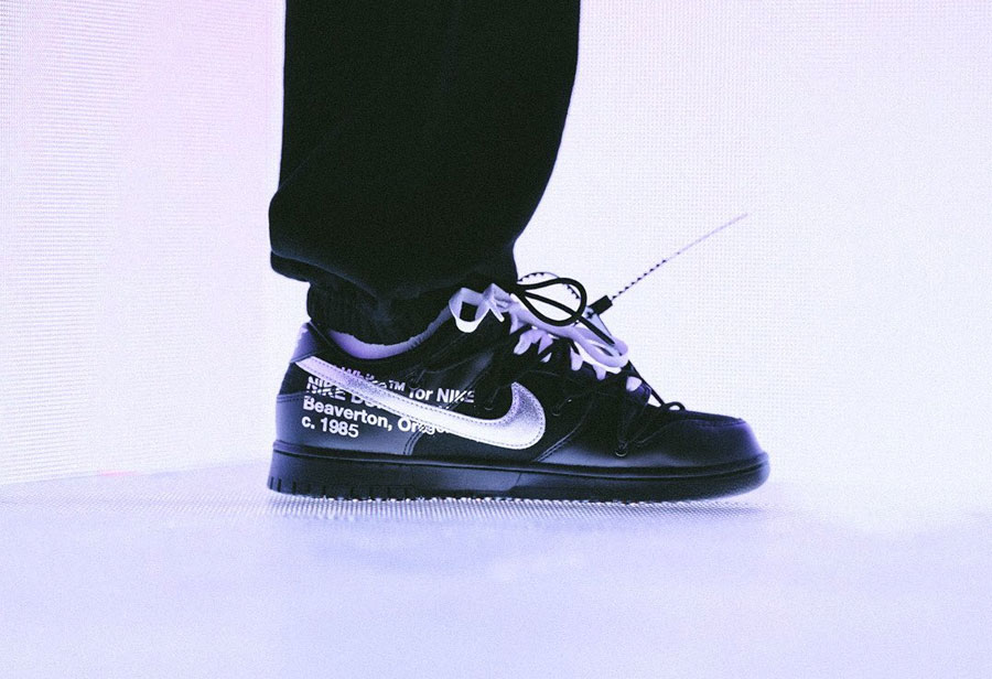 OFF-WHITE,OW,Nike,Dunk Low,发售  OFF-WHITE x Dunk Low 开始抽签了!官方晒出上脚照!