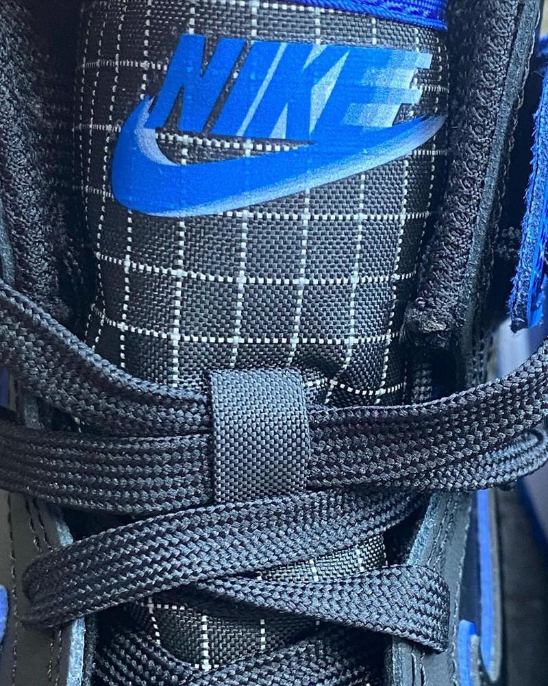 Nike Dunk High SE,DD3359-001  反光迷彩太酷炫!全新配色 Dunk High SE 实物曝光!