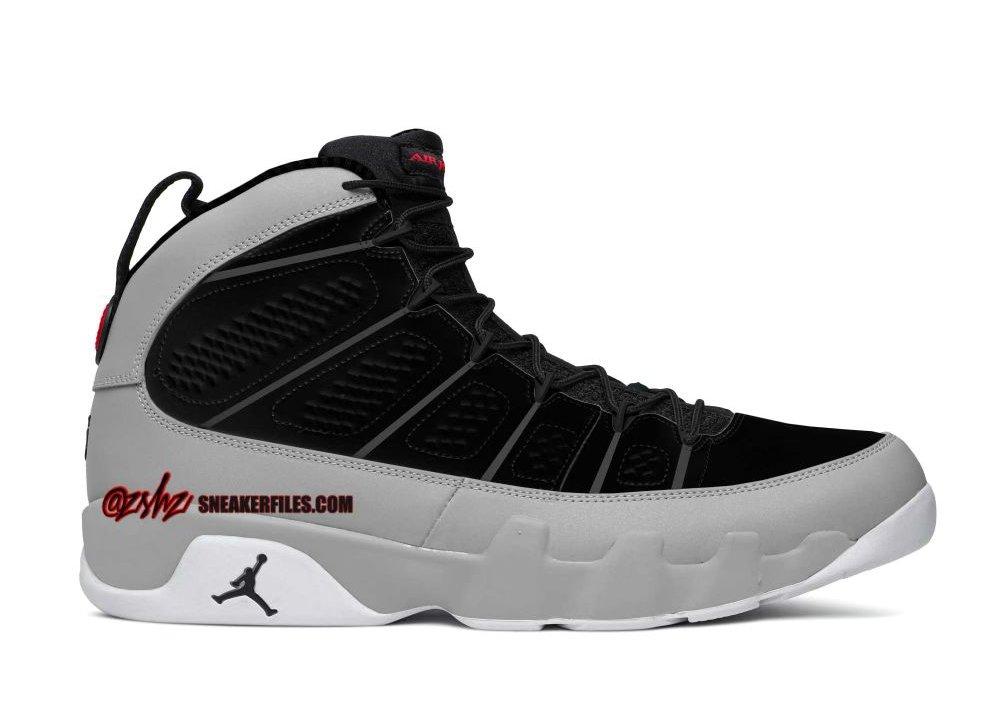 Air Jordan 9,AJ9,CT8019-060  灰黑配色!全新配色 Air Jordan 9 发售信息曝光!