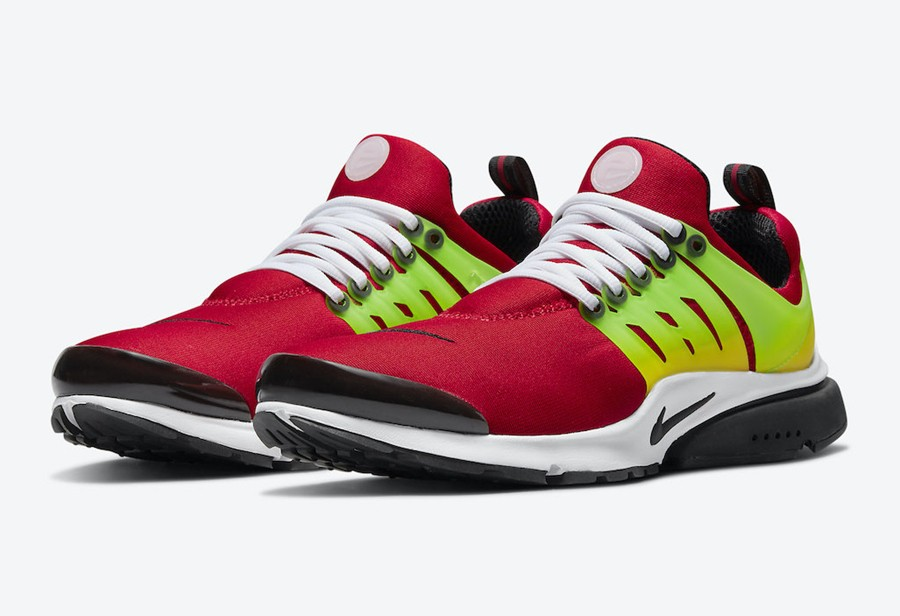 "Nike Air Presto ""University Re  黄绿渐变真骚气!全新 Nike Air Presto 新配色首次曝光!"