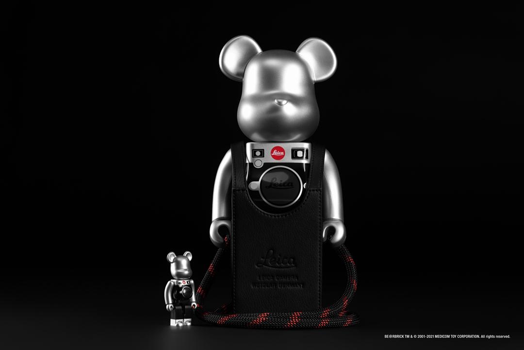 LEICA,MEDICOM TOY,BE@RBRICK,M  仅在国区发售!全新徕卡 x 积木熊本周登场!网友:更买不起了!