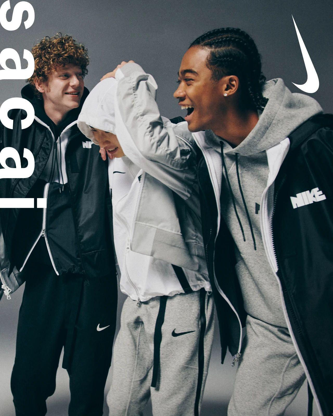 sacai,Nike  多位明星演绎!sacai x Nike 服饰系列明日发售!