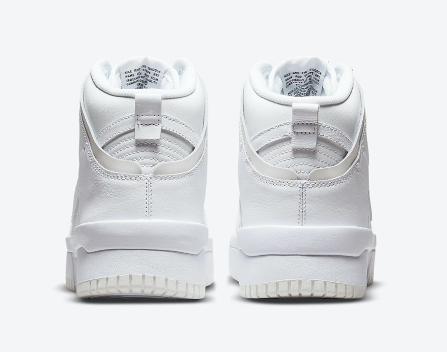 Nike,Dunk High Rebel,DH3718-10  纯白 + 叠加设计!全新 Nike Dunk High Rebel 即将发售!