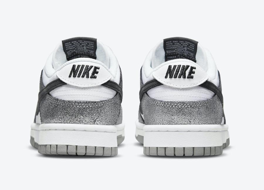 Nike,Dunk Low,DO5882-001  银色特殊材质!全新「白银」Dunk Low 官图曝光!