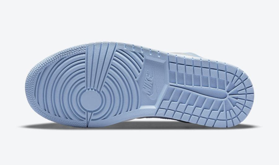 Nike,Air Jordan 1 Low,DC0774-0  夏日气息满满!「大学蓝 2.0」 Air Jordan 1 Low 再度来袭!
