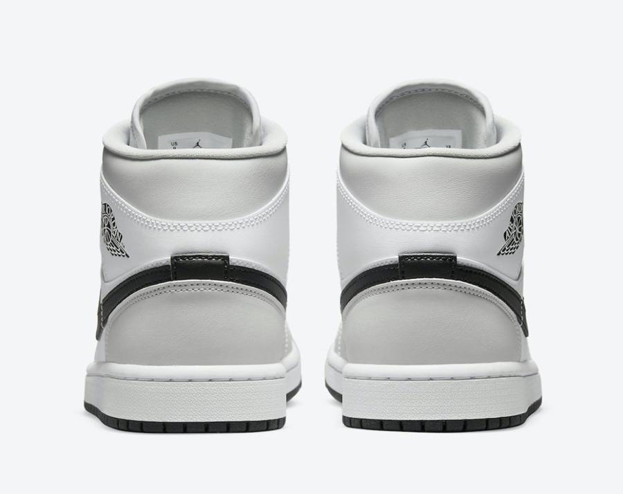 Nike,Air Jordan 1 Mid,BQ6472-0  颜值担当!全新 Air Jordan 1 Mid「烟灰色」即将亮相!
