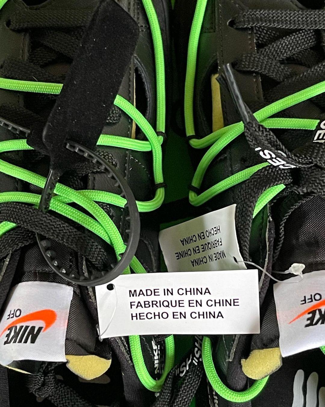 OFF-WHITE,Nike,Blazer Low  今年登场!OW x Blazer 最新实物曝光!网友:这冻脚吗?