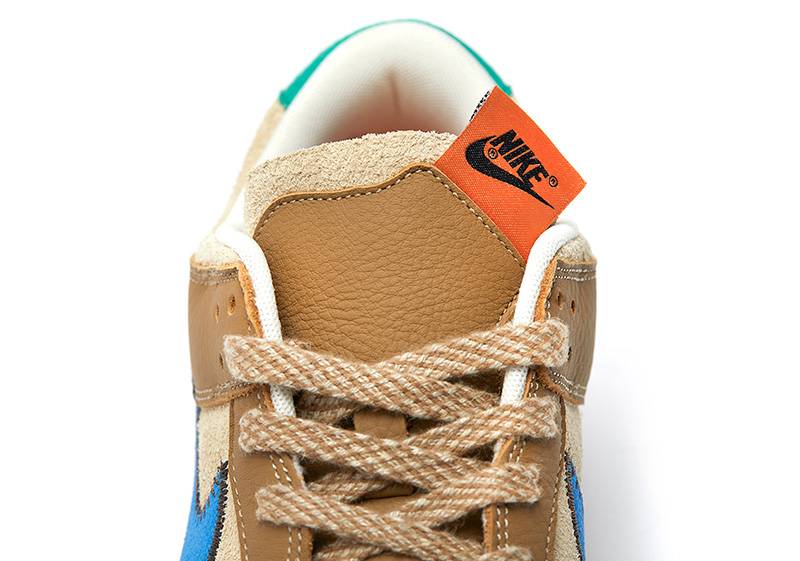 size?,Nike,Dunk Low  Dunk 新联名曝光!鞋舌又玩出了新花样!