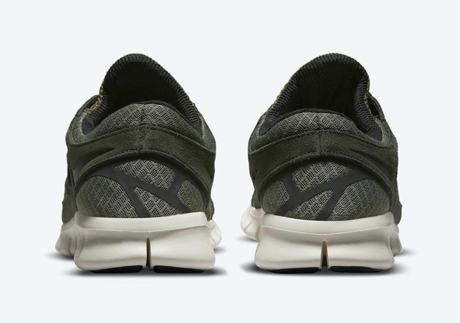 Nike,Free Run 2,Medium Olive,5  军绿真硬朗!全新配色 Nike Free Run 2 官图曝光 !