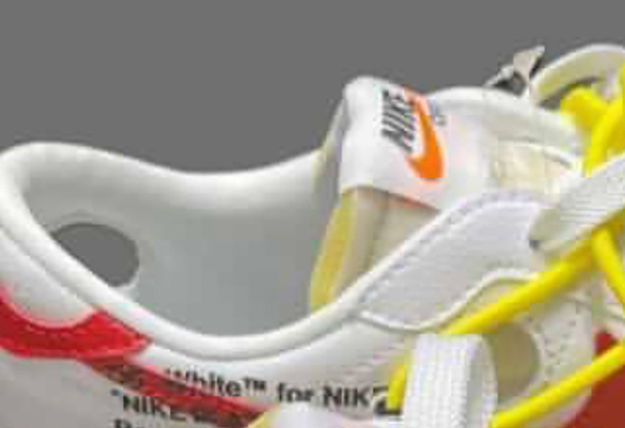 OFF-WHITE,Nike,Blazer Low  解构造型 +「番茄炒蛋」配色!第二双 OW x Blazer 实物首次曝光!