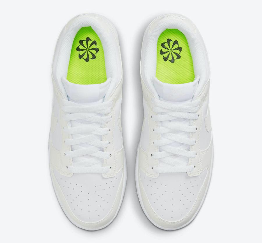 Nike,Dunk Low,DD1873-101  经典设计与环保材料!全新 Dunk Low 官图曝光!