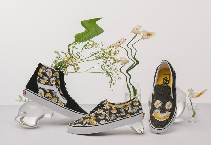 Vans,微笑雏菊  权志龙带火的「小雏菊」又来了!三款配色刚刚发售!